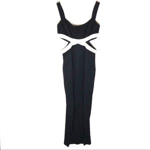RAMPAGE CUT OUT GOWN